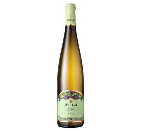 Alsace Willm - Cuvee Emile Willm - Riesling bottle