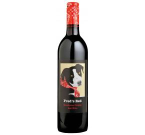 Fred's Red - Mendocino County bottle