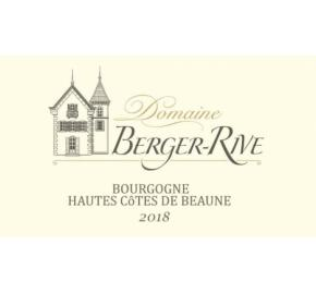 Domaine Berger-Rive label