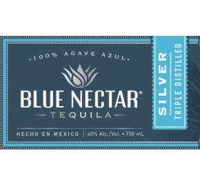Blue Nectar - Silver Tequila label