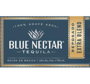 Blue Nectar - Reposado Extra Blend Tequila label