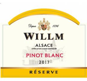 Alsace Willm - Pinot Blanc - Reserve label