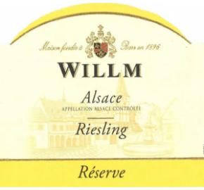Alsace Willm - Riesling - Reserve label