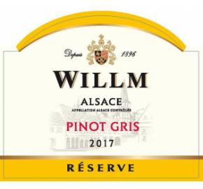 Alsace Willm - Pinot Gris - Reserve label