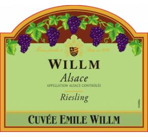 Alsace Willm - Cuvee Emile Willm - Riesling label