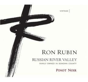 Ron Rubin - Russian River Valley - Pinot Noir label
