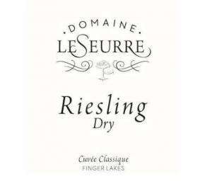 Domaine Le Seurre - Riesling Dry label