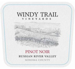 Windy Trail Vineyards - Pinot Noir label