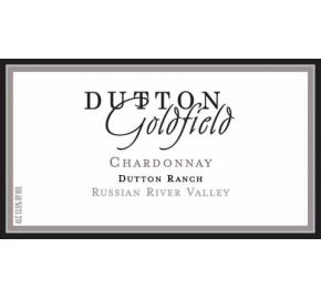 Dutton Goldfield - Dutton Ranch Chardonnay label