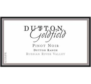 Dutton Goldfield - Dutton Ranch Pinot Noir label