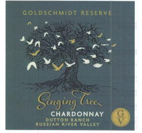 Goldschmidt Reserve - Singing Tree -Chardonnay label