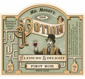 Mr. Moody's Potion - Pinot Noir label