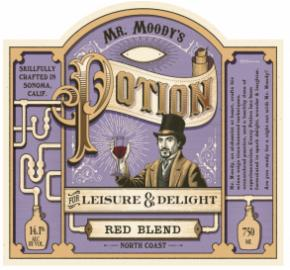 Mr. Moody's Potion - Red Blend label