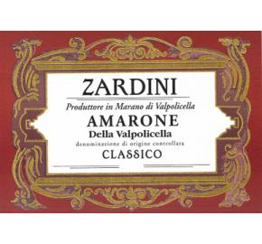 Zardini - Amarone label